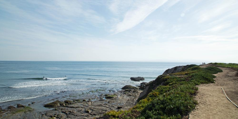 UCSB Oceanside Cliff